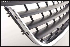 sportgrill f r den vw t5 multivan mit chromeleiste wieder. Black Bedroom Furniture Sets. Home Design Ideas