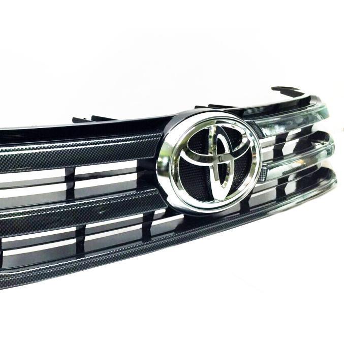 Toyota hilux revo tuning und zubeh r k hlergrill im carbon look