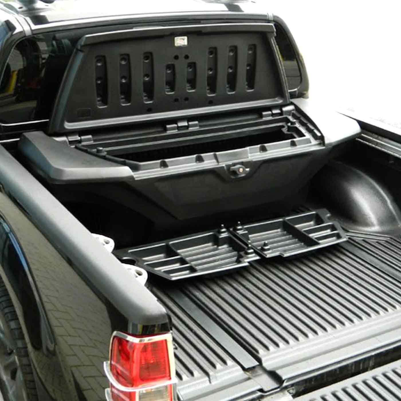 zubehör, toolbox gladiator xl für mitsubishi triton ab 2015