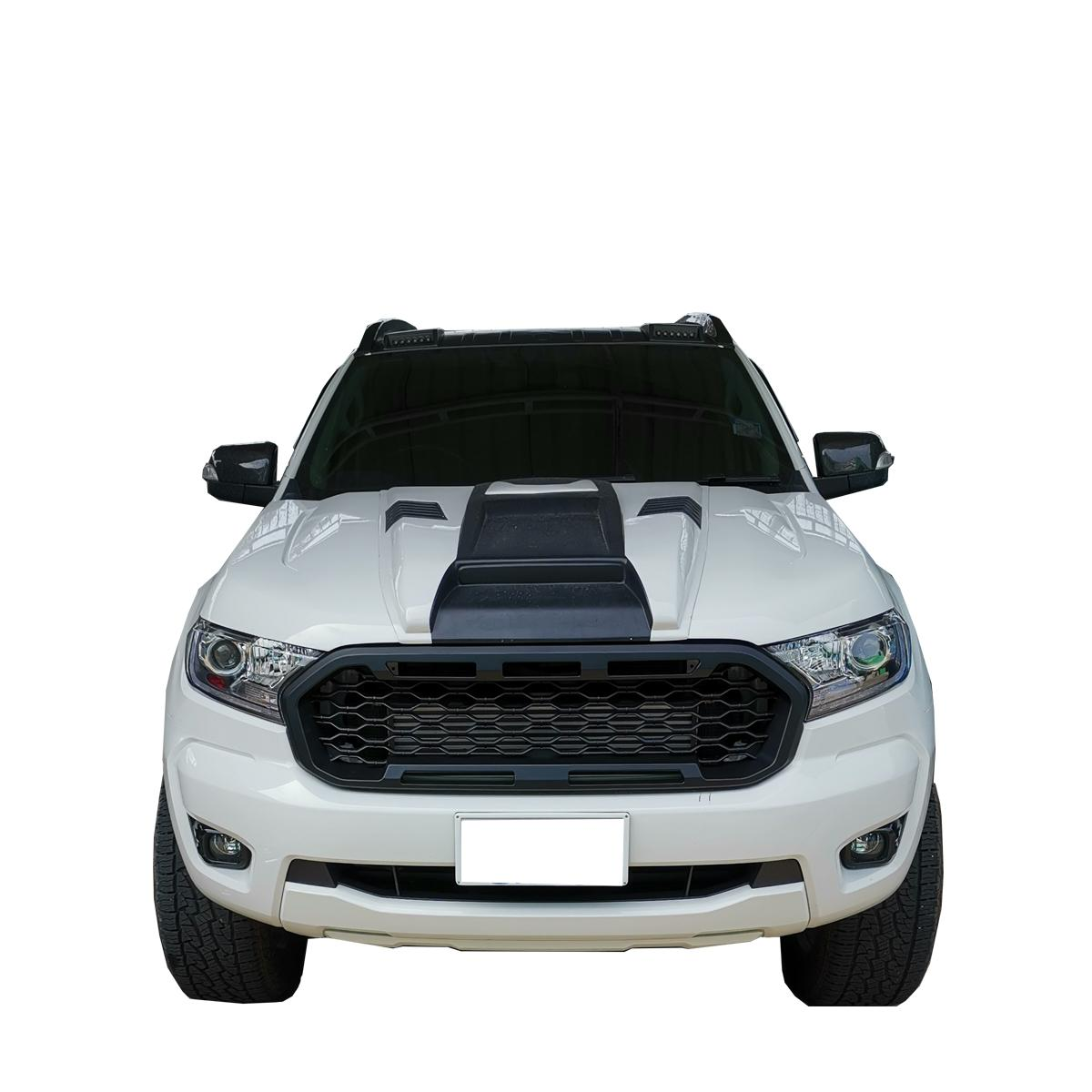 Schwarz matter Frontgrill Khlergrill Ford Ranger Wildtrak 2019 ...