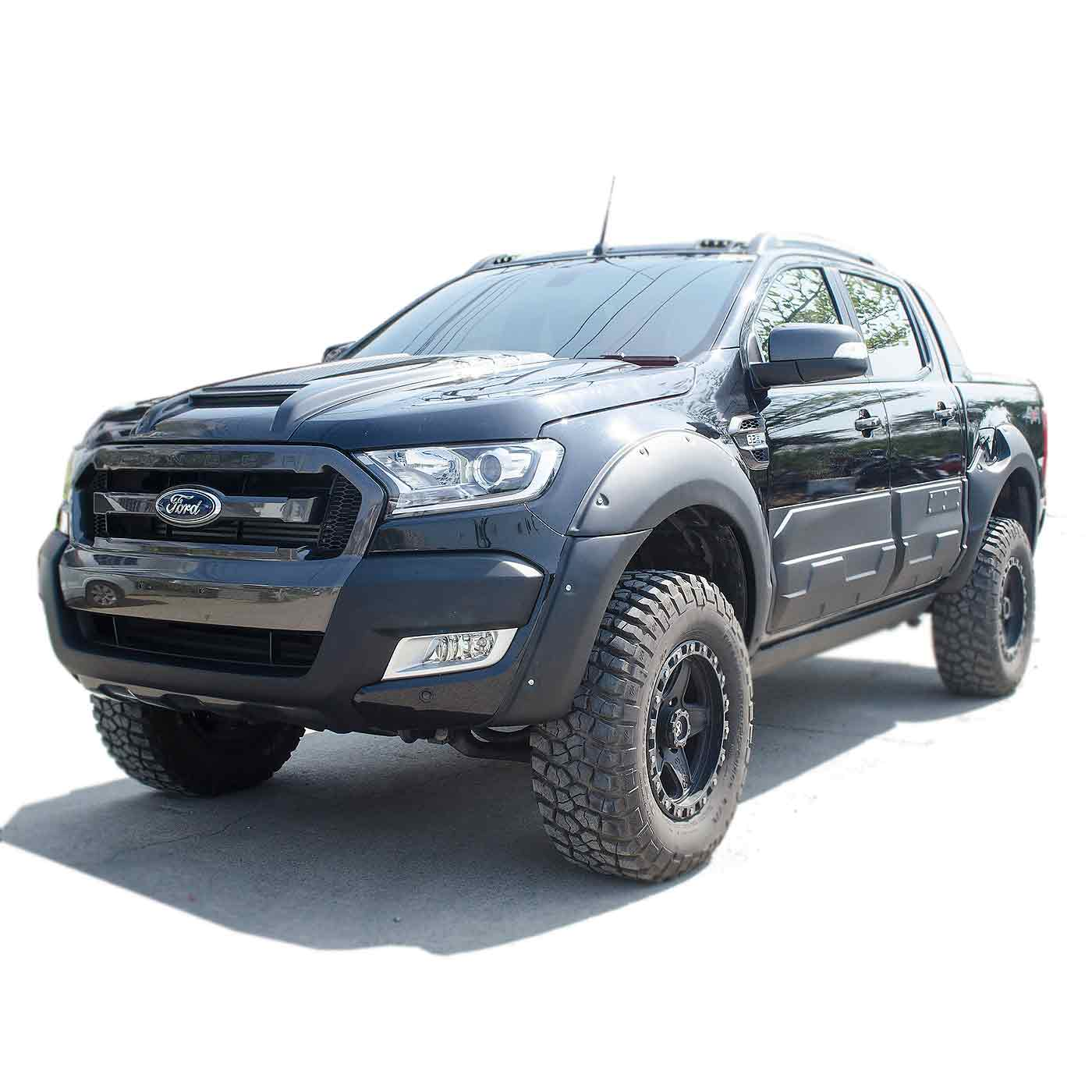 K9 Kotflügelverbreiterungen Ford Ranger ab 2015
