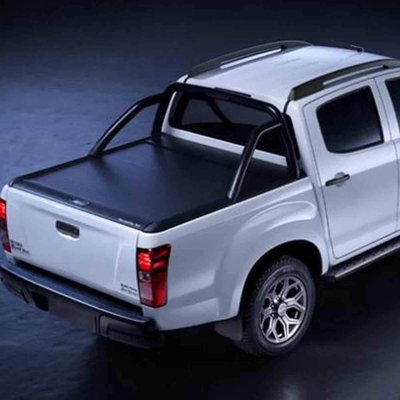 Mountain Top Alu Rollo Schwarz Fur Ford Ranger Doppelkabine Ab 2015