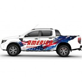 Sticker Und Aufkleber Ford Ranger Ab Baujahr 2015 Bis 2018